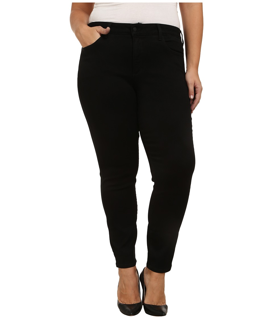 NYDJ Plus Size - Plus Size Alina Leggings in Sculpting Denim (Black) Women's Casual Pants