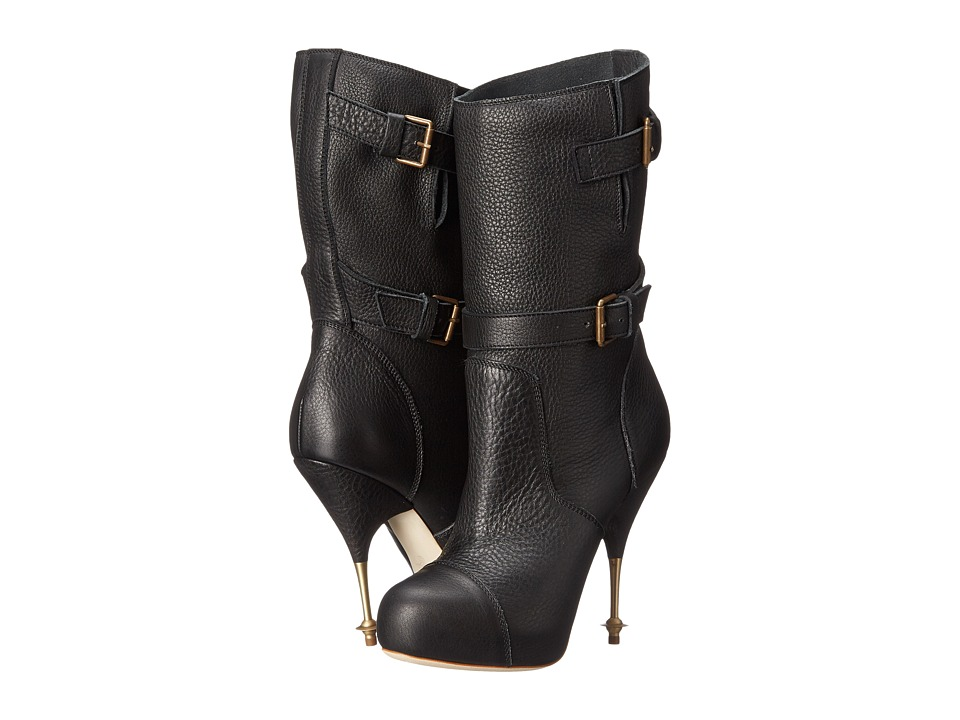 Vivienne Westwood - Biker Boot (Black) Women's Pull-on Boots