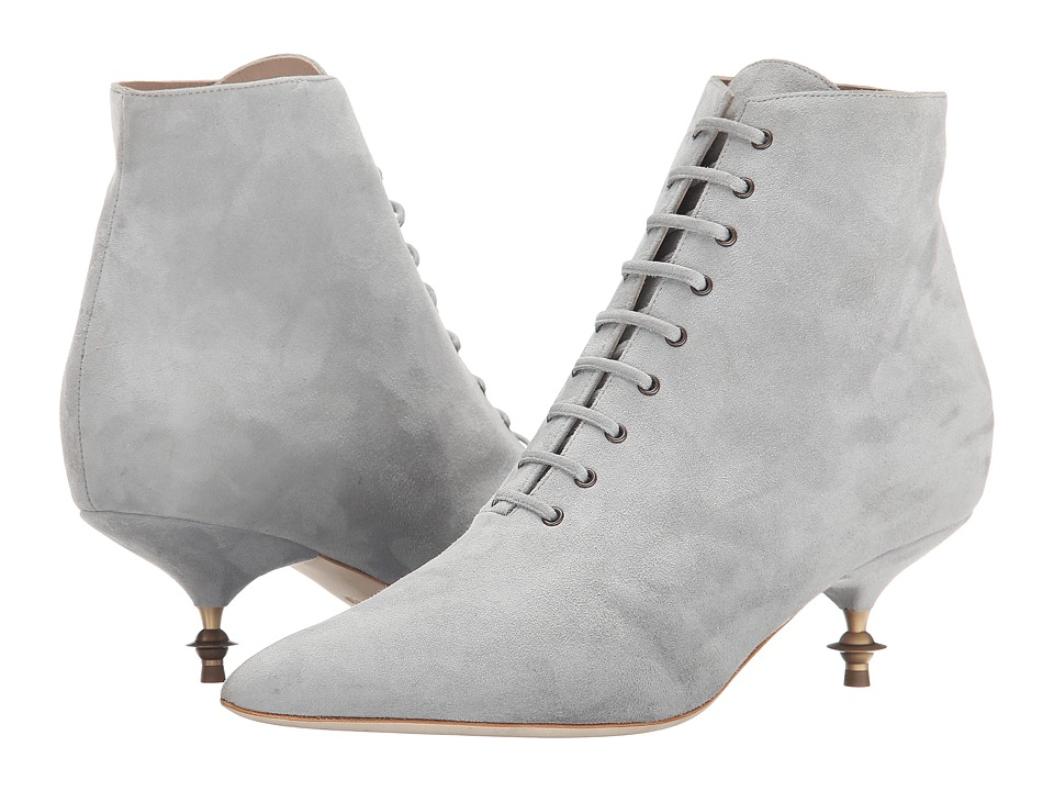 Vivienne Westwood - Laceup Boot (Grey) Women's Boots