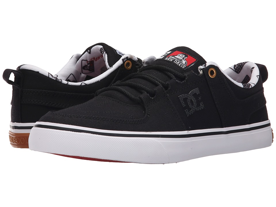 DC - Lynx Vulc X Ben Davis (Black/Red) Men's Skate Shoes