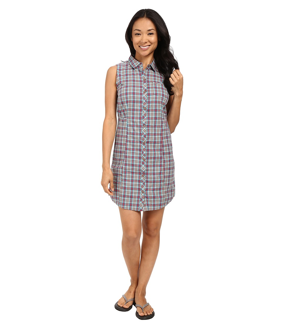 Toad&Co - Maneuver Shirtdress (Dark Turquoise) Women's Dress