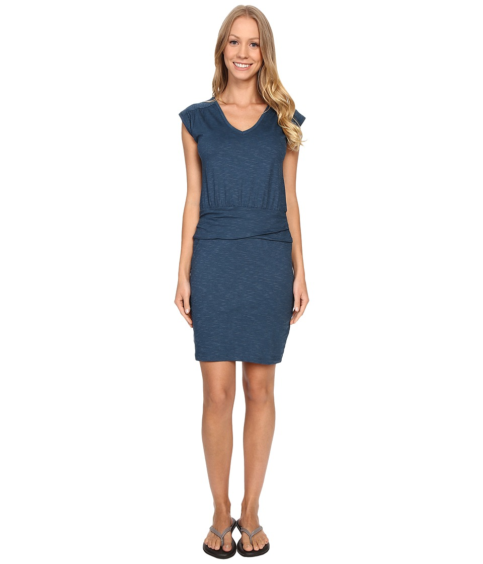Toad&Co - Zeta Dress (Inky Teal) Women's Dress