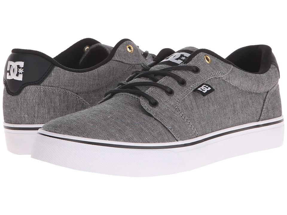 DC - Anvil TX SE (Grey) Men's Shoes