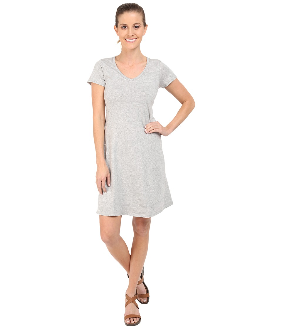 Toad&Co - Marley S/S Dress (Heather Grey) Women's Dress