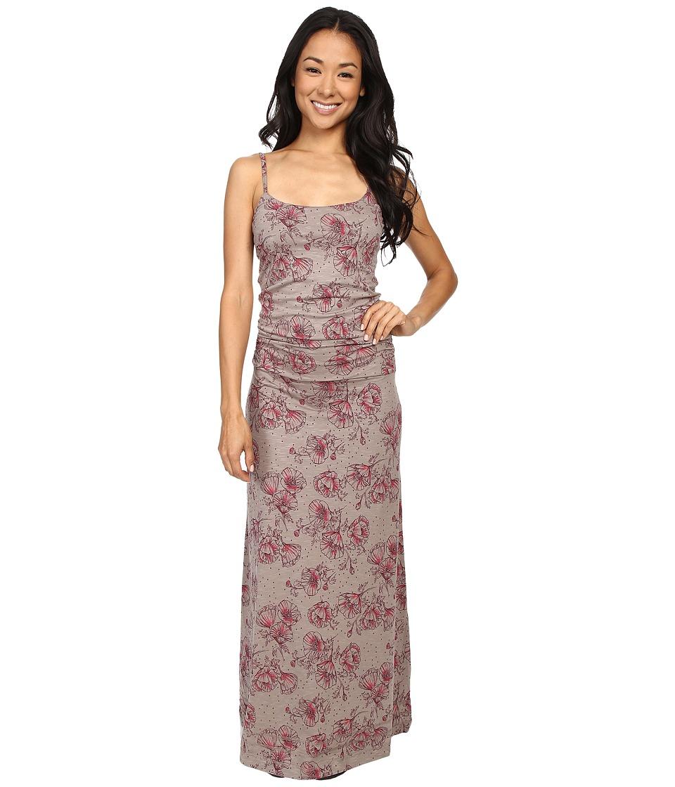 Toad&Co - Long Island Dress (Cocoa Poppy Print) Women's Dress