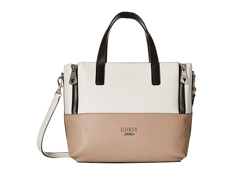 GUESS - Doheny Satchel (Clay Multi) Satchel Handbags
