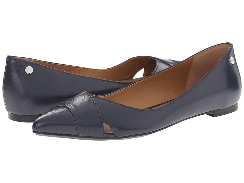 Calvin Klein - Gailia (Navy Kid Skin) Women's Shoes