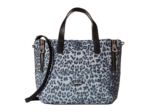 GUESS - Doheny Satchel (Leopard) Satchel Handbags