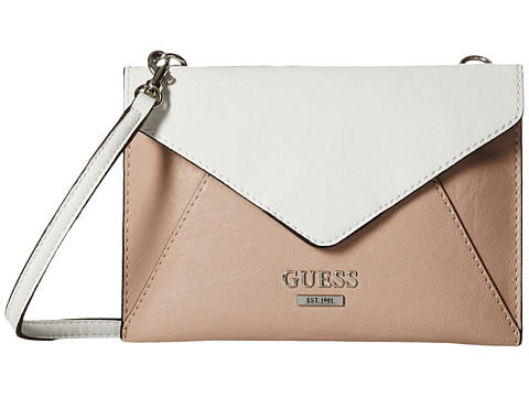 GUESS - Doheny Petite Envelope (Clay Multi) Handbags