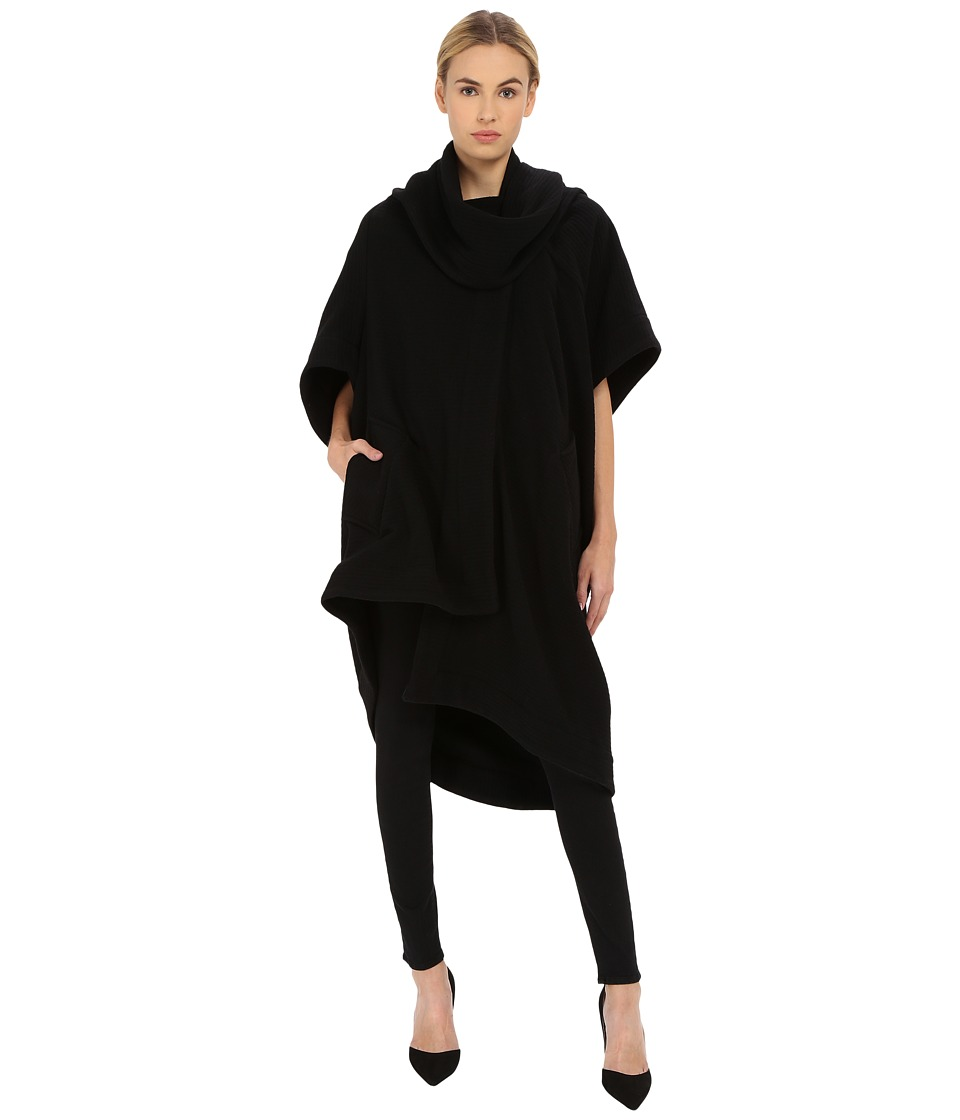 Vivienne Westwood - Short Sleeve Blanket Coat (Black) Women's Coat