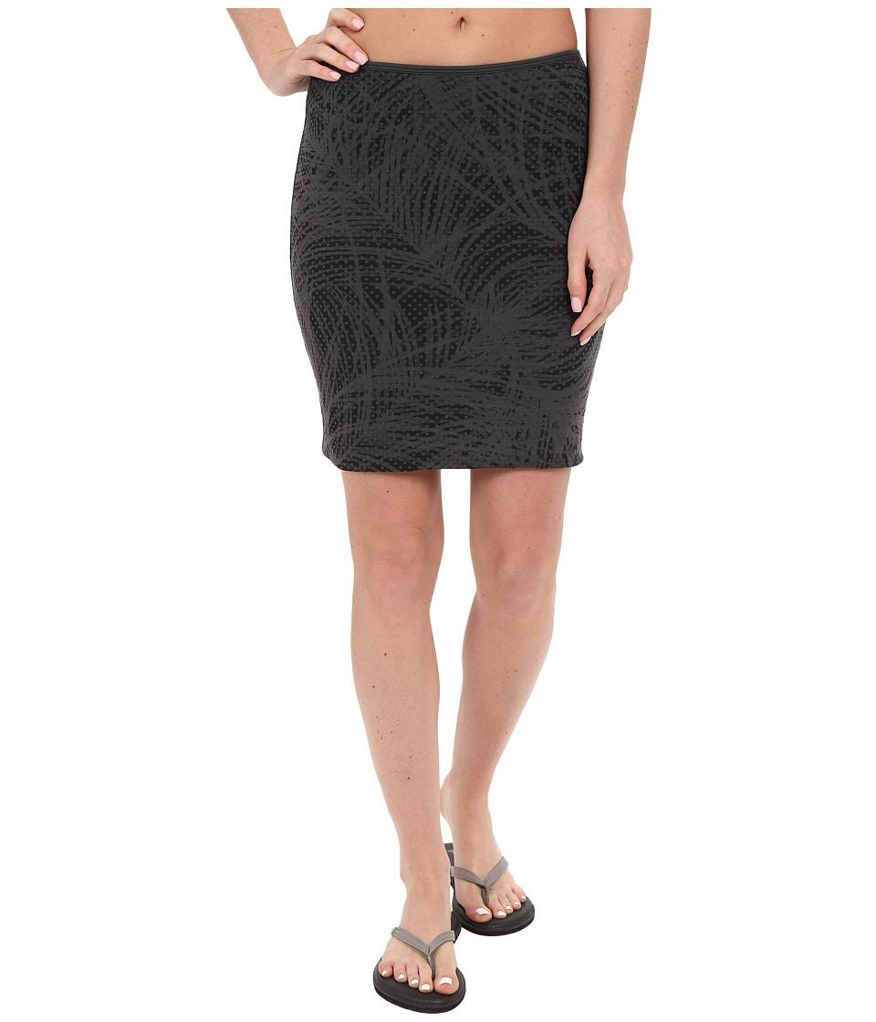 Icebreaker - Tsveti Reversible Skirt (Black/Monsoon) Women's Skirt