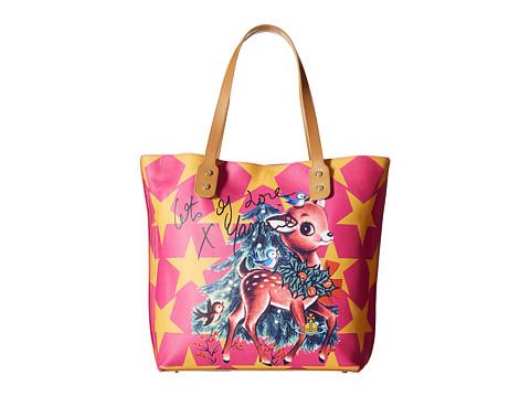 Vivienne Westwood - Printed Pouch Shopper Reindeer (Multi) Handbags
