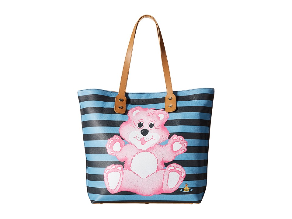 Vivienne Westwood - Printed Pouch Shopper Bear (Multi) Tote Handbags