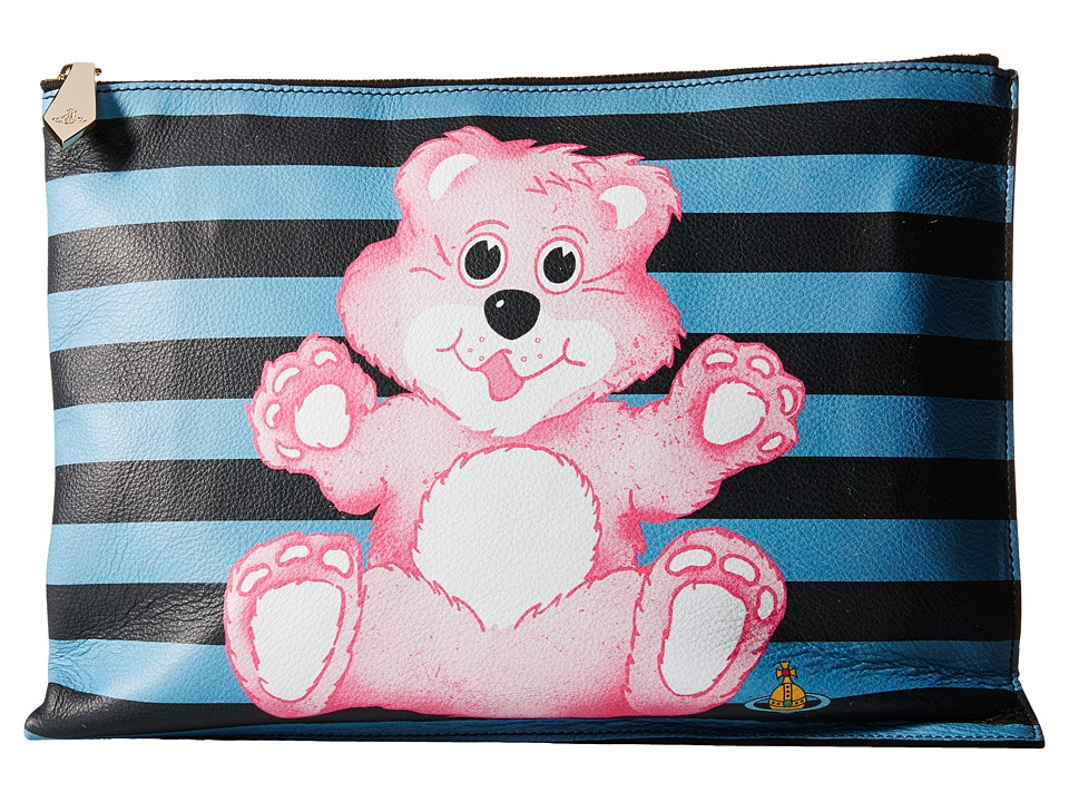 Vivienne Westwood - Printed Large Pouch Bear (Multi) Handbags