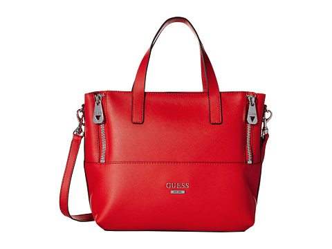 GUESS - Doheny Satchel (Cny Red) Satchel Handbags
