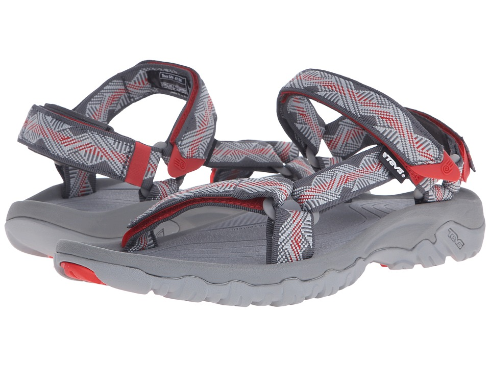 Teva - Hurricane XLT (Geometric Grey/Red) Men's Shoes