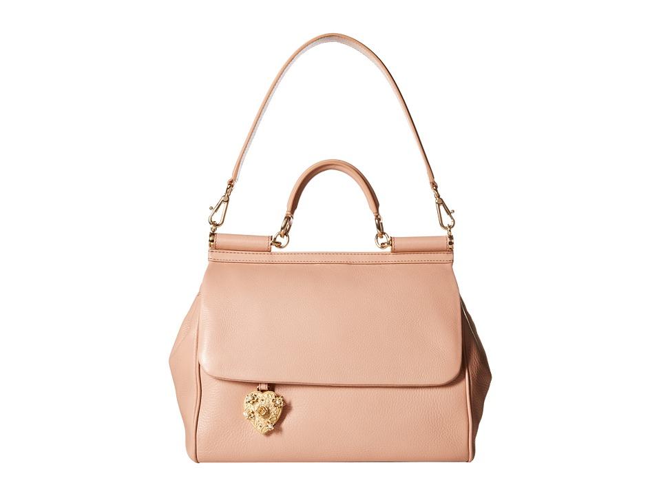 Dolce & Gabbana - Borsa A Mano Vit.Volanato (Nudo) Handbags