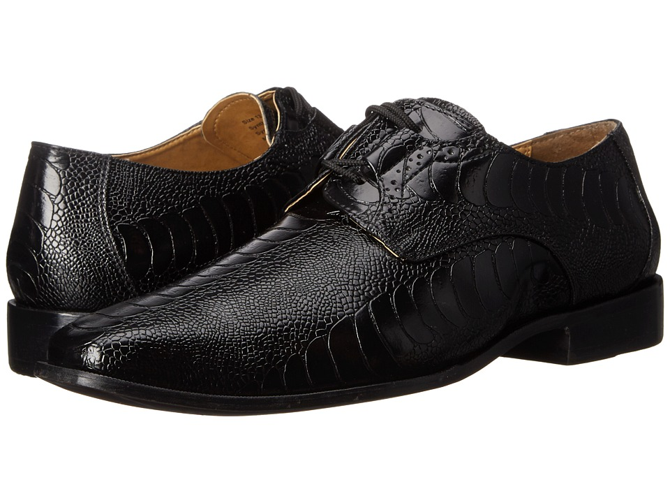 Giorgio Brutini - Heath (Black) Men's Shoes