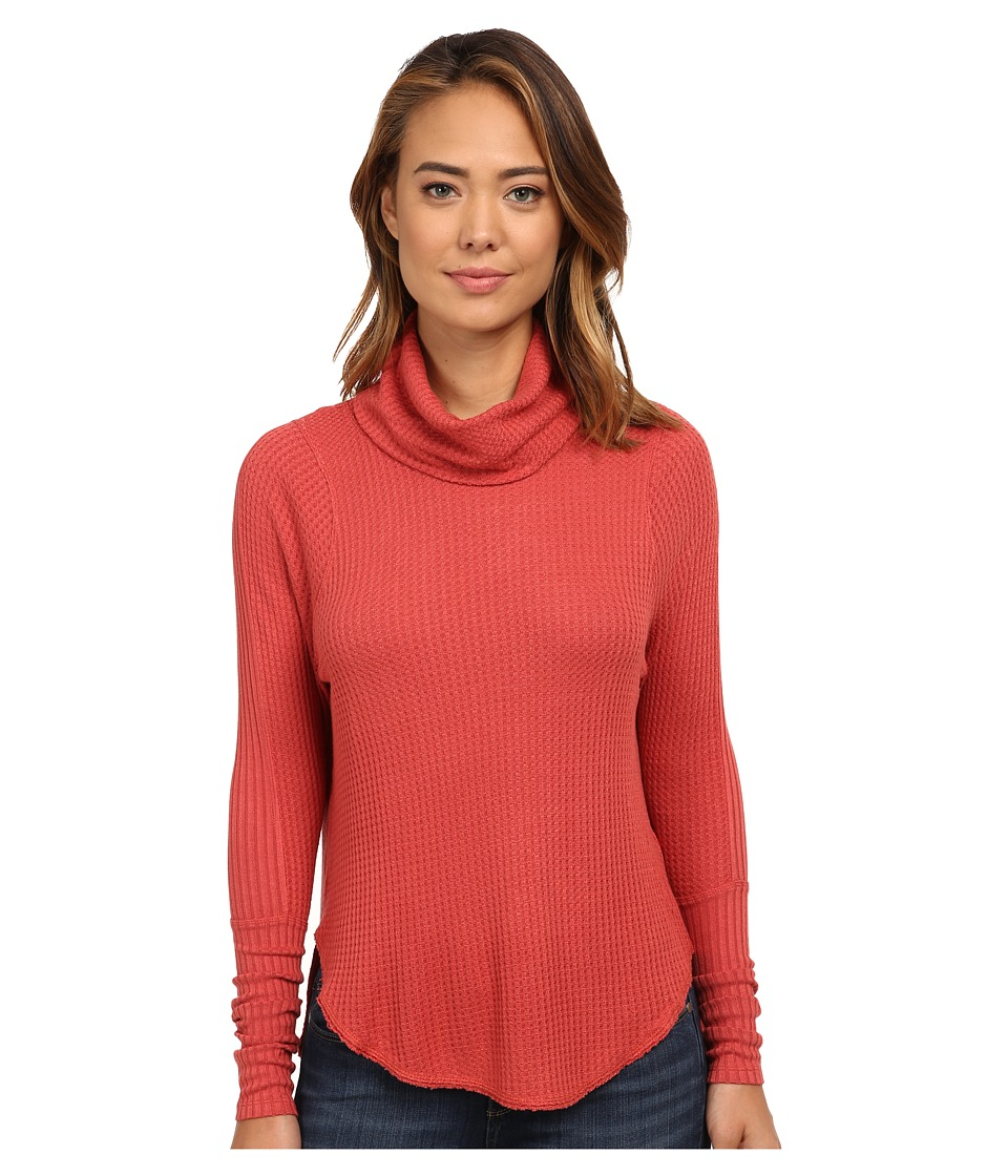 Free People - Drippy Thermal Kristina (Cayenne) Women's Clothing