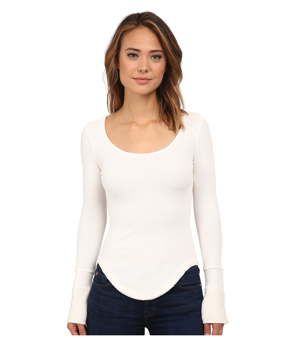 Free People - Newbie Thermal Sunnie Valley Cuff (Ivory) Women's Clothing