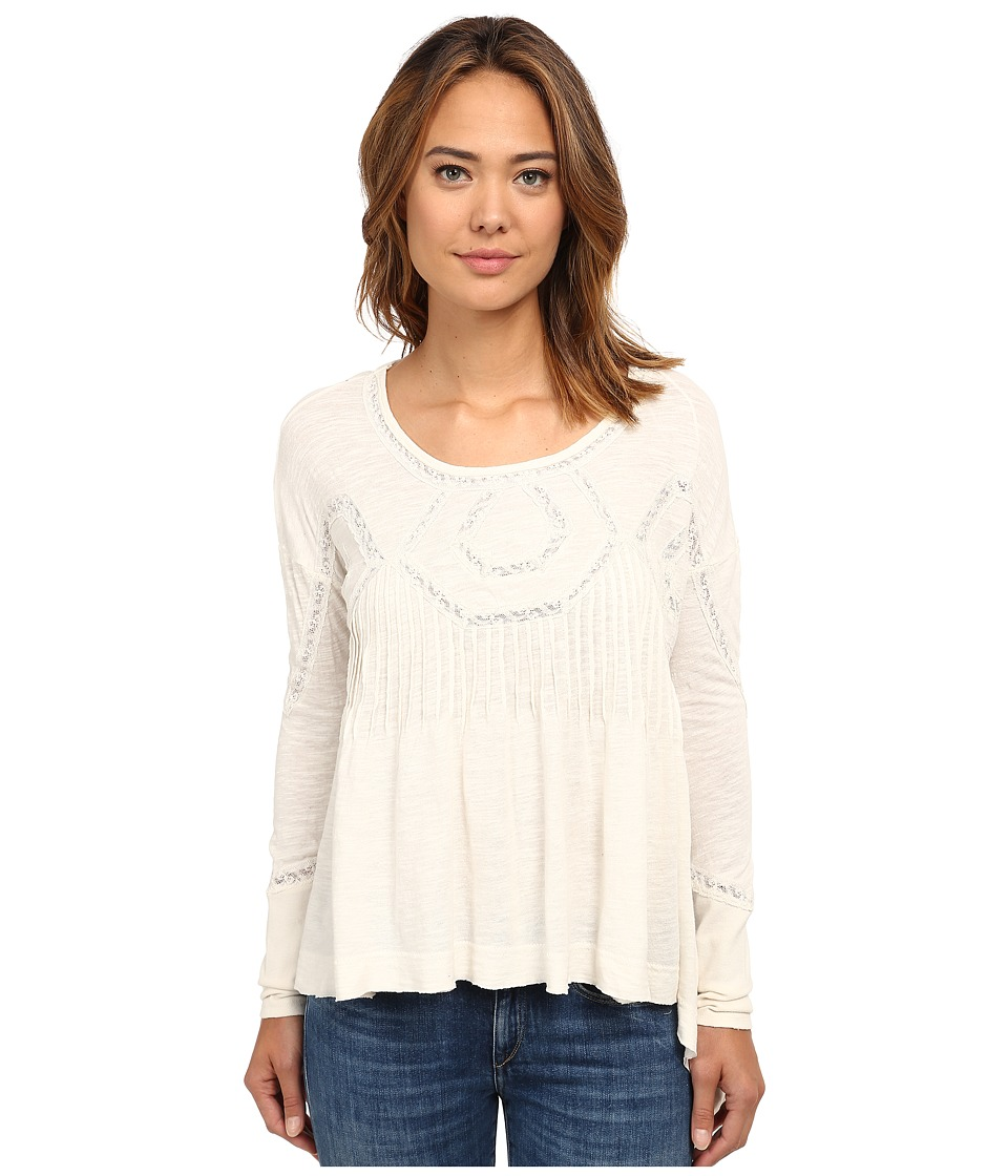 Free People - New Hope Babydoll (Ivory) Women's Clothing