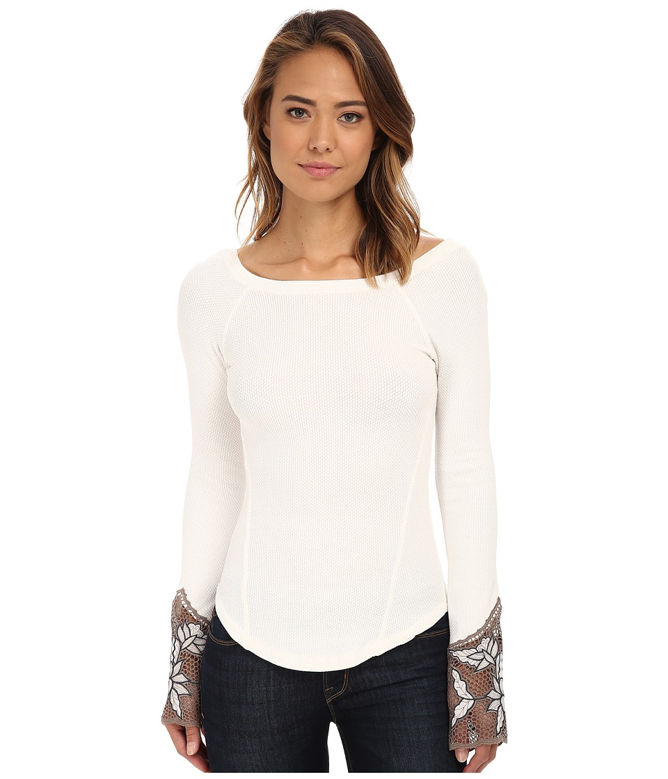 Free People - Newbie Thermal Bali Babe Cuff (Ivory) Women's Clothing
