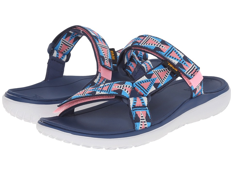 Teva Terra-Float Lexi (Mosaic Pink/Blue) Women
