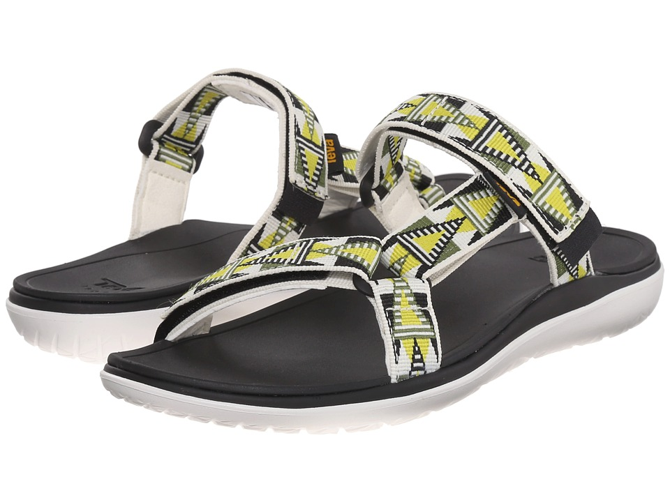 Teva - Terra-Float Lexi (Mosaic Lime/White) Women's Shoes