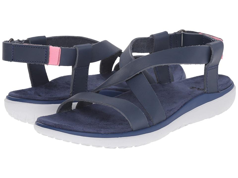 Teva - Terra-Float Livia Lux (Navy) Women's Shoes