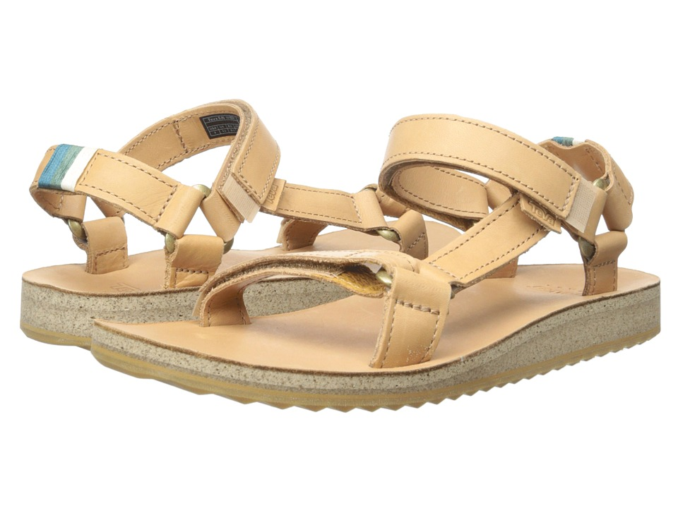 Teva Original Universal Crafted Leather (Tan) Women