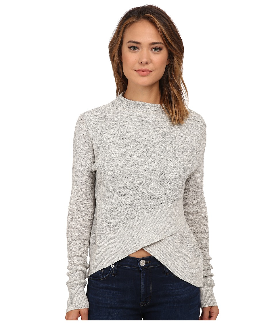 Free People - Boho Wrap Sweater (Grey Heather) Women's Sweater
