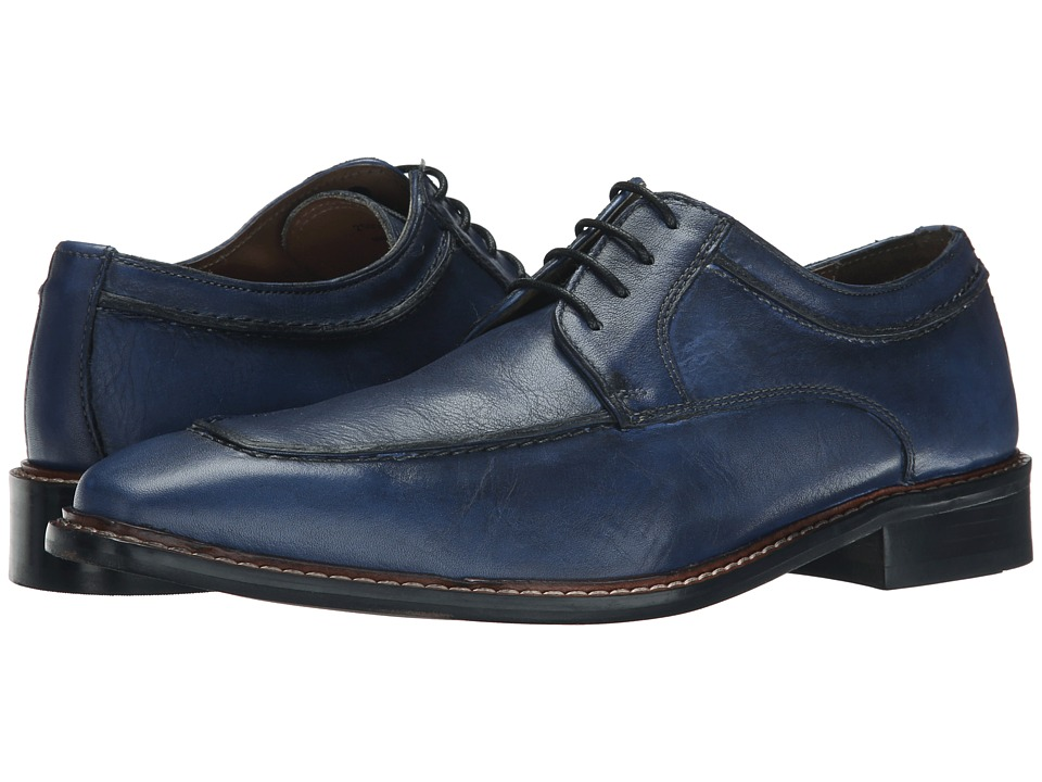 Giorgio Brutini - Nelson (Dark Blue) Men's Lace up casual Shoes