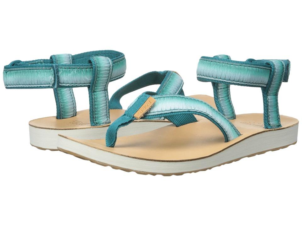 Teva - Original Sandal Ombre (Deep Teal) Women's Sandals