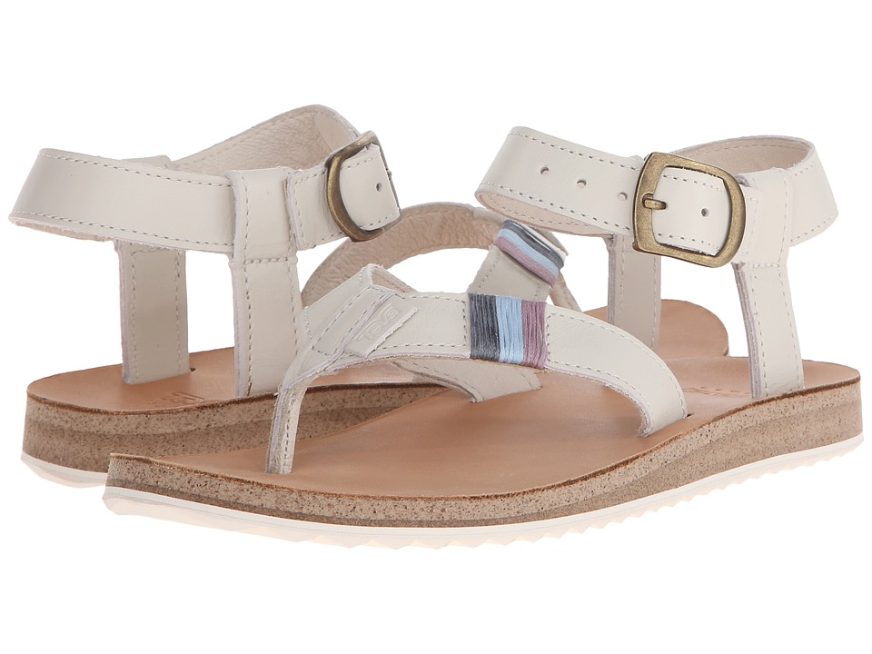 Teva Original Sandal Crafted Leather (White) Women