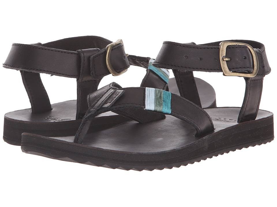 Teva Original Sandal Crafted Leather (Black) Women