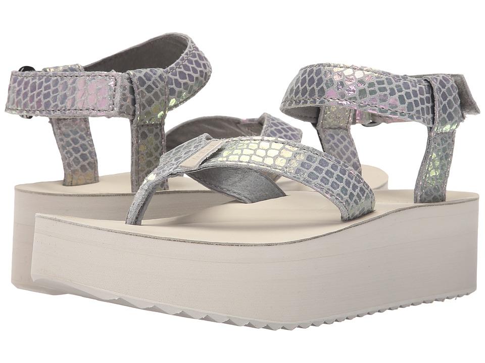 Teva - Flatform Sandal Iridescent (Grey) Women's Sandals