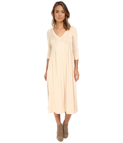 Free People - Sophie's Maxi (Champagne) Women's Dress