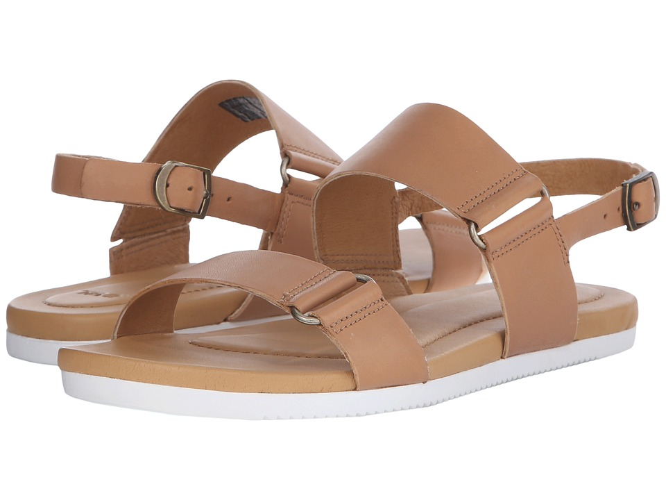 Teva Avalina Sandal Leather (Tan) Women