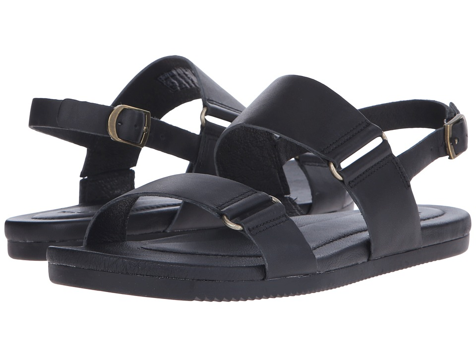 Teva - Avalina Sandal Leather (Black) Women's Sandals