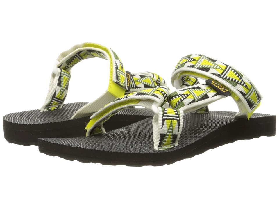 Teva Universal Slide (Mosaic Atomic Lime) Women