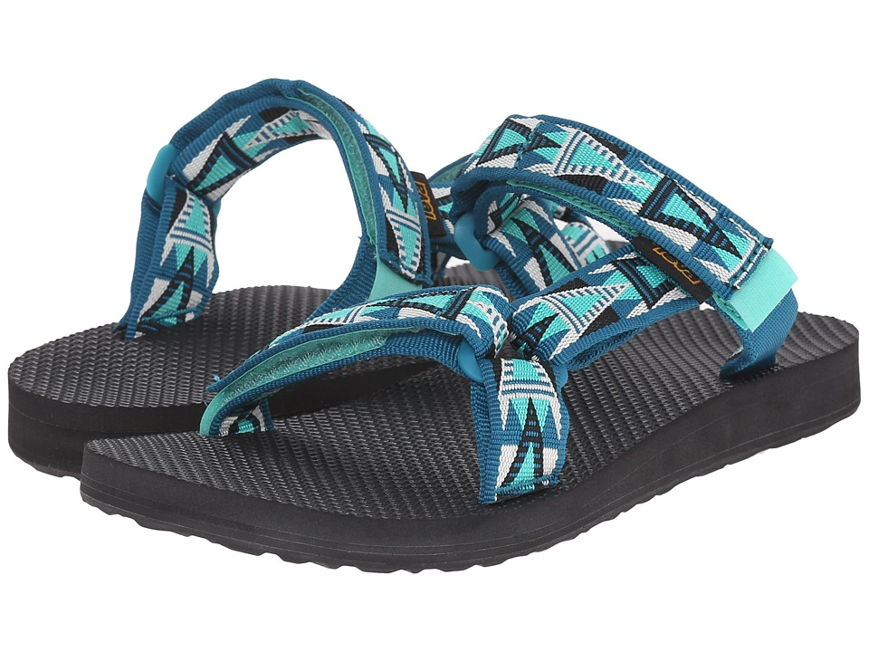 Teva - Universal Slide (Mosaic Deep Teal) Women's Sandals