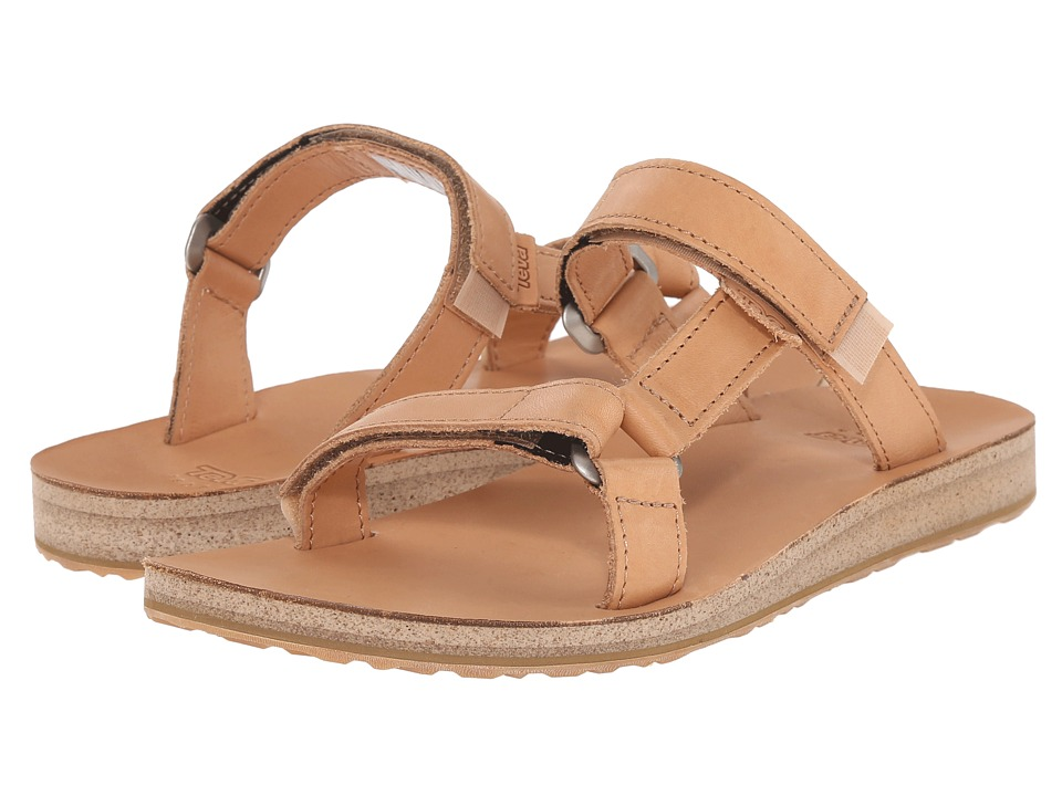 Teva Universal Slide Leather (Tan) Women