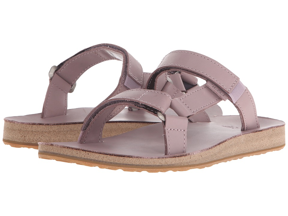 Teva - Universal Slide Leather (Elderberry) Women's Sandals