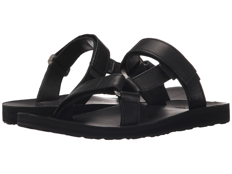 Teva - Universal Slide Leather (Black) Women's Sandals