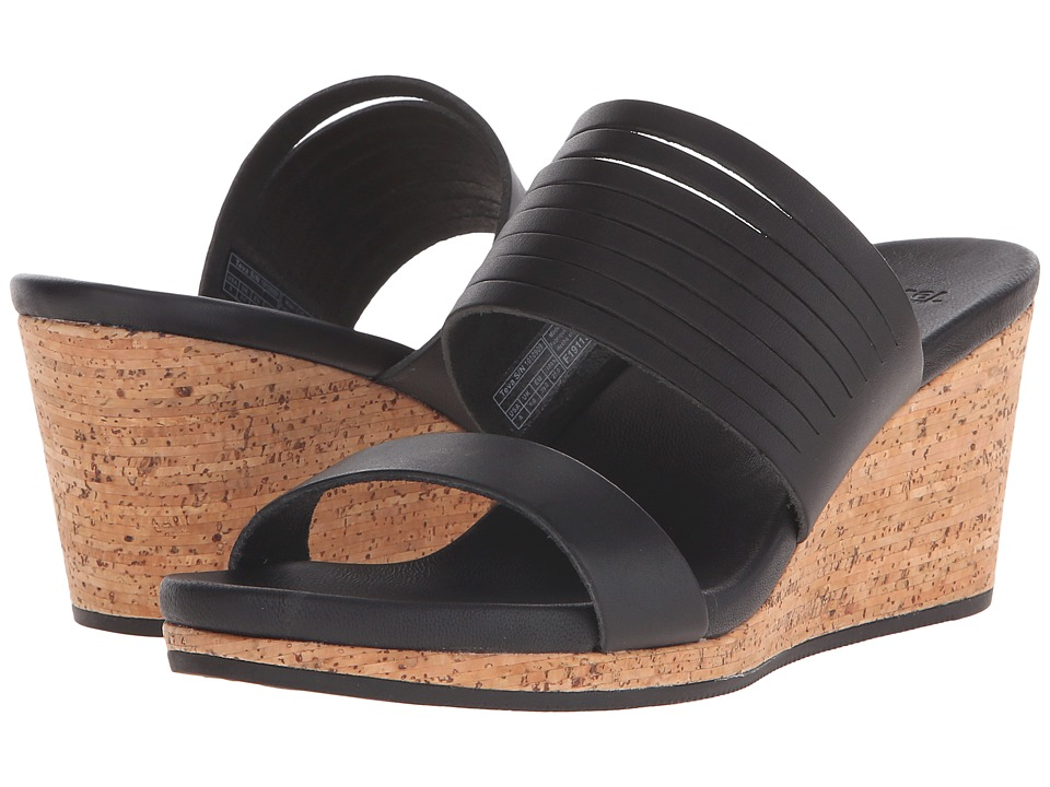 Teva Arrabelle Slide Leather (Black) Women