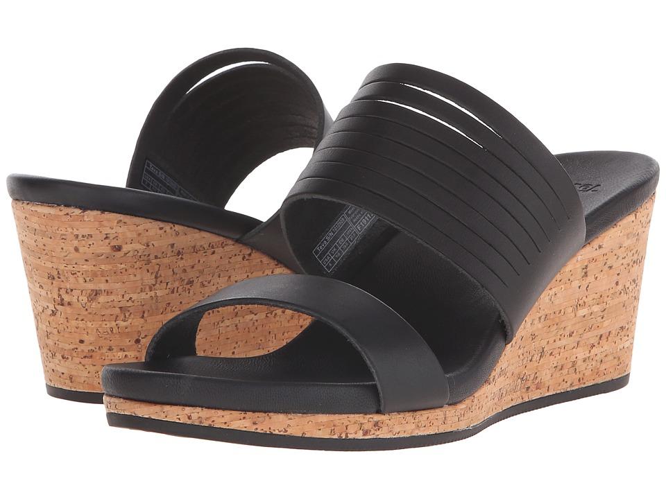 Teva - Arrabelle Slide Leather (Black) Women's Sandals