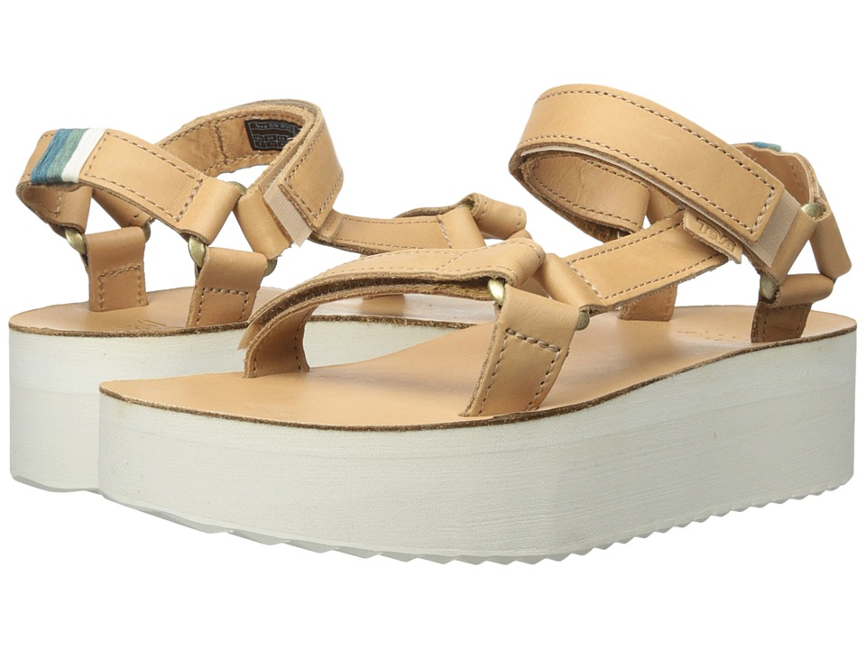 Teva Flatform Universal Crafted (Tan) Women