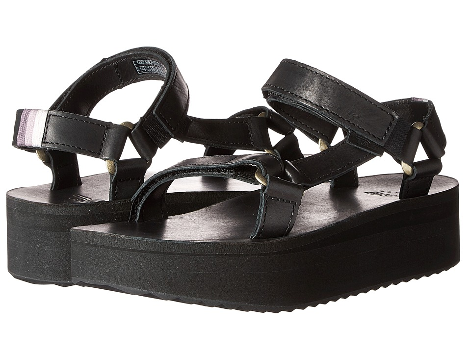 Teva - Flatform Universal Crafted (Black) Women's Shoes
