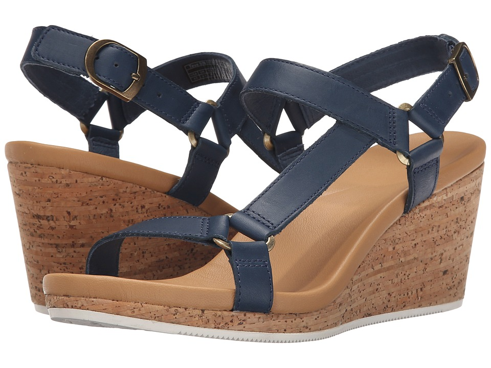 Teva Arrabelle Universal Leather (Navy) Women