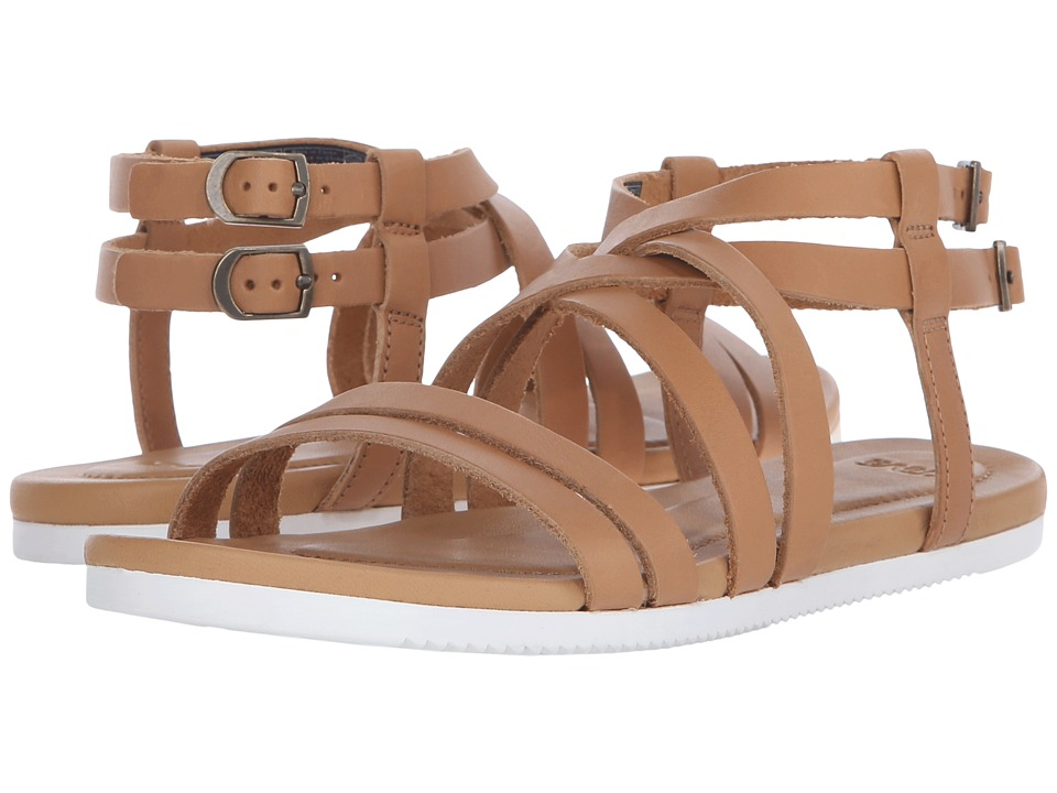 Teva Avalina Crossover Leather (Tan) Women